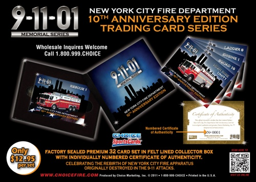 9-11 Memorial Series 10th Anniversary Edition