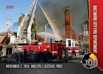 Baltimore City Fire Department On the Job Series 1
